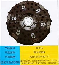 重汽斯太尔、红岩玉柴,潍柴发动机直径420铸铁离合器压盘/420CD-80046