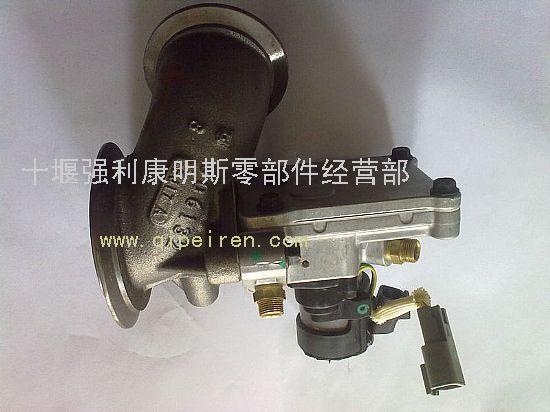 电控蝶形废气再循环阀(egr阀)3104874/4955422图片