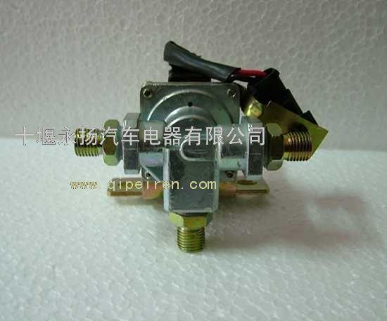 东风天龙d310气喇叭电磁阀总成3754020-c0300.图片