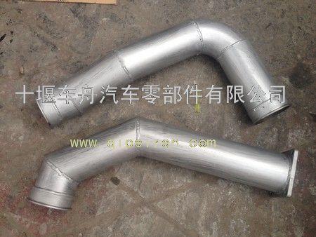 东风天龙消声器排气管总成1203020-t3800