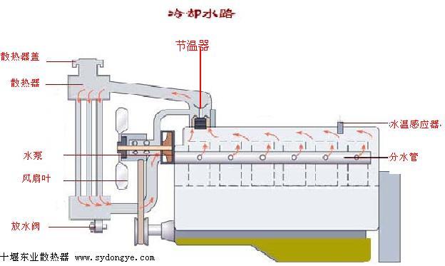 普通抽水泵結構圖
