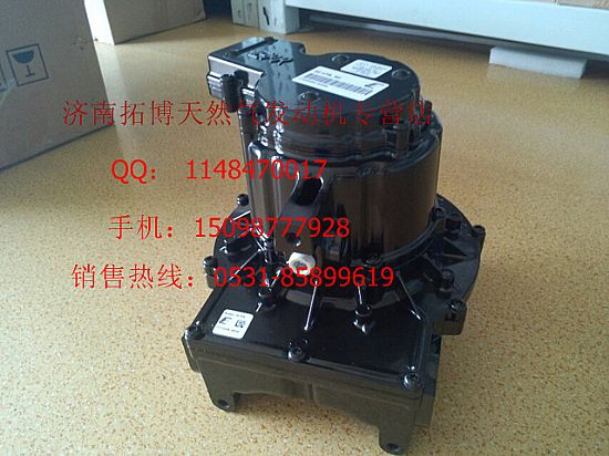 Heavy duty natural gas engines 10 liters of electronic
