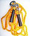 汽车拖车绳 钢丝拖车绳 牵引绳 强力拉车绳自救绳 16mmx4米