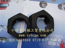 六角槽形扁螺母/153/天龙/大力神转向节螺母/30N-01061