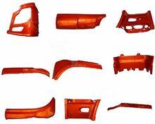 东风天龙珠光钼红驾驶室前装饰件组8406059-c0100/8406060-c0100/8405325-c0100/8405326-c0100