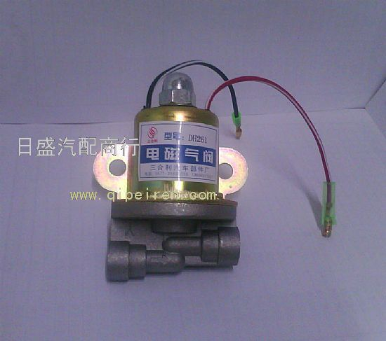 东风eq153卡车电磁气阀dh261(双线)大车重汽货车专用电磁气阀图片