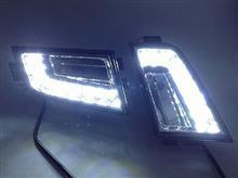 大众13款新朗逸 前防雾灯总成 LED日行灯日间行车灯 升级改装专用/大众13款新朗逸日行灯