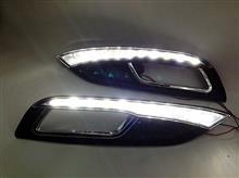 起亚K3专车专用LED日行灯 起亚K3日行灯 日间行车灯 带黄光转向/起亚k3专车专用日行灯