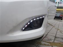 08 09款卡罗拉日间行车灯 卡罗拉改装雾灯 LED日行灯 行车灯 雾灯/卡罗拉日间行车灯