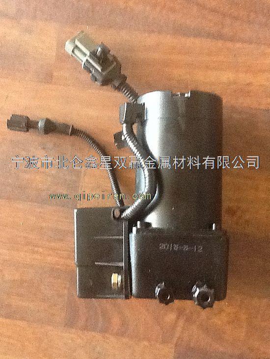 5002075aa01 配件名称: 电动液压泵总成-驾驶室举升 适用车型: 解放j6图片