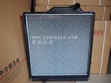 重汽金王子290发动机水箱WG9120530508铝塑水箱,750x930mm/WG9120530508
