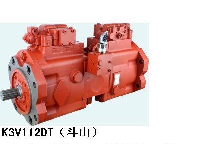 斗山挖掘机液压泵k3v112 k3v112图片