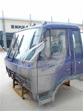 东风153平顶紫色原装豪华驾驶室总成/153