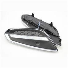 供应沃尔沃S60雾灯 富豪S60专用LED日间行车灯 日行灯 杠灯 夜行/YG