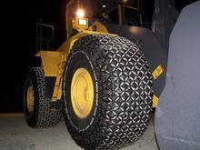 天津统威保护链20.5-25型 40型铲车轮胎防护链 轮胎防滑链/003