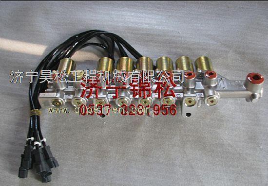 小松pc300-7电磁阀组总成 小松电磁阀图片
