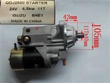 供应WDJ2500 五十铃6HH1 6H起动机马达