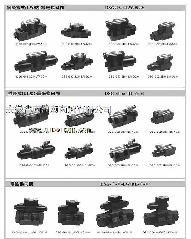 台湾帝富difu电磁阀dsg-g02-3c2-lw-ac220