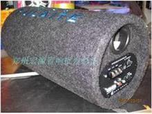圆型 有源低音炮 超重低音 汽车 音响 功放 音箱 车载音响低音炮