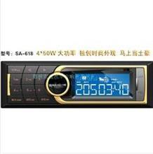 西玛618629插卡机汽车用品无损音乐收音机促销车载MP3播放器