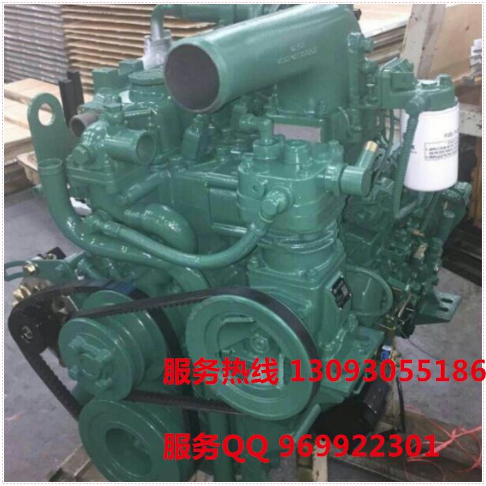 【一汽锡柴4110发动机总成140马力带中冷增压大泵国