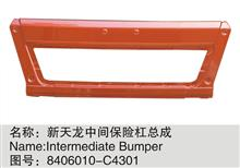 东风新款天龙中间保险杠总成/8406010-C4301