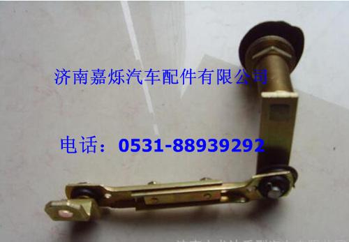 【重汽豪威码头牵引车雨刮器连杆bz1651740001+002