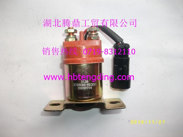 东风天龙,大力神,天锦汽车配件,预热继电器 3735095 KE300,高清图片