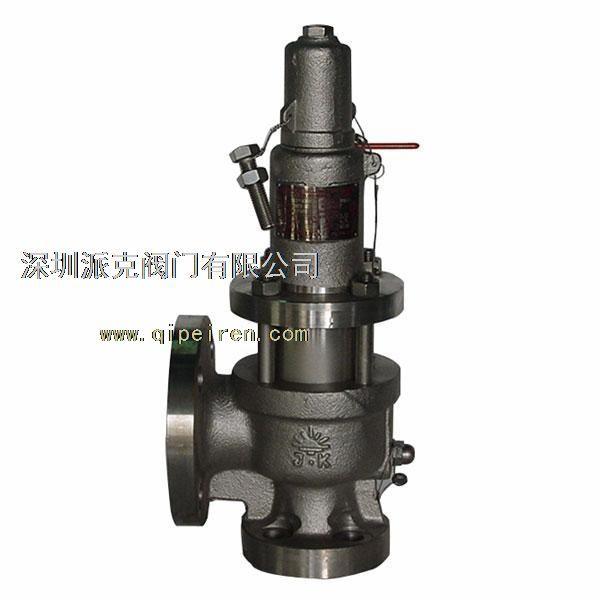 一旦当压力容器的压力异常后产生的高压将克服安全阀的弹簧压力,所图片