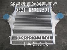 陕汽德龙中冷器总成/DZ95259531501