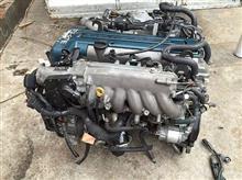 供应丰田皇冠155发动机总成,变速箱,方向机原装配件/发动机