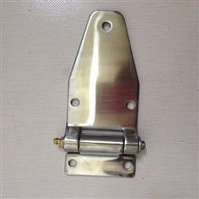 不锈钢车厢合页工业铰链发电机合页带黄油嘴