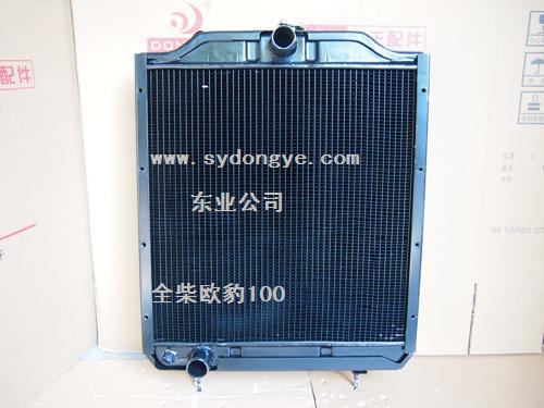 福田雷沃欧豹100拖拉机水箱全柴发动机散热水箱冷却箱