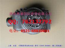 上柴发动机水泵总成/C20AB-20AB60