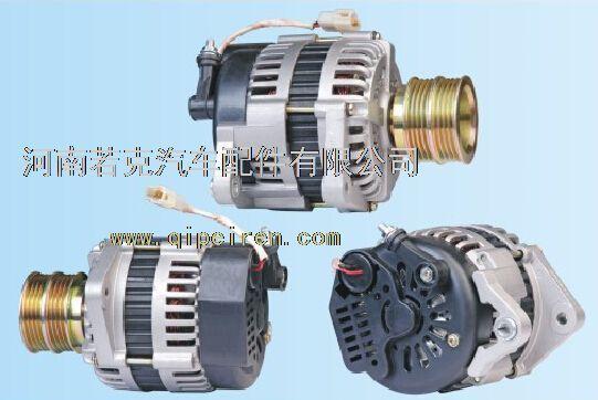奇瑞qq 1.1汽车发电机jfz1626,八槽皮带轮带助力