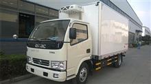 东风5米1国四冷藏车4吨小型冷藏车价格/5080XLC12D3AC