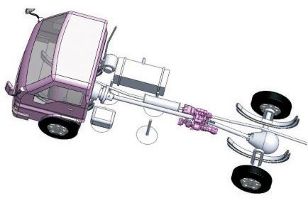 3750080-c0101东风天龙天锦大力神轴间差速开关总成-分动箱3750080-c