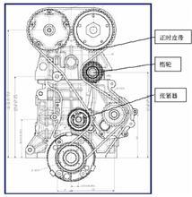 C4993047东风天龙天锦大力神惰轮轴座/C4993047
