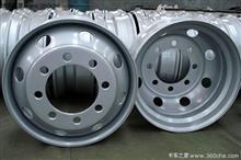 3501365-K20X1东风天龙天锦大力神前制动盘及轮毂总成-右