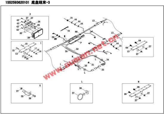 5631.5602东风天龙天锦大力神底盘配电盒保险-60a