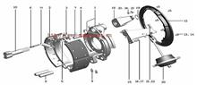 3502.32ZA11S-010东风天龙天锦大力神后左制动器总成/3502.32ZA11S-010