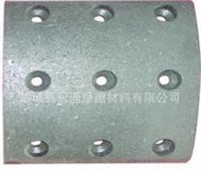 3501ZB1-185-B东风天龙天锦大力神前下制动蹄带摩擦片及滚轮总成/3501ZB1-185-B