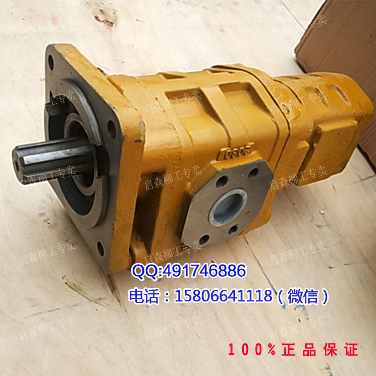 【柳工铲车液压泵j2080/1016柳工856齿轮泵11c0067图片