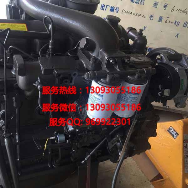 【广西玉柴4110系列135马力发动机总成增压中冷玉柴
