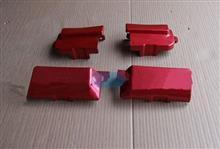 中国重汽豪沃10款车门合页塑料盖上/WG1642111023