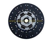 豪沃配件拉式大孔豪沃从动盘总成离合器片/1601130-ZB601