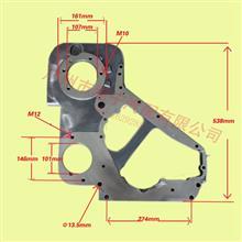 东风康明斯6CT发动机齿轮室(铝配国产泵配210240ps)/C3926518