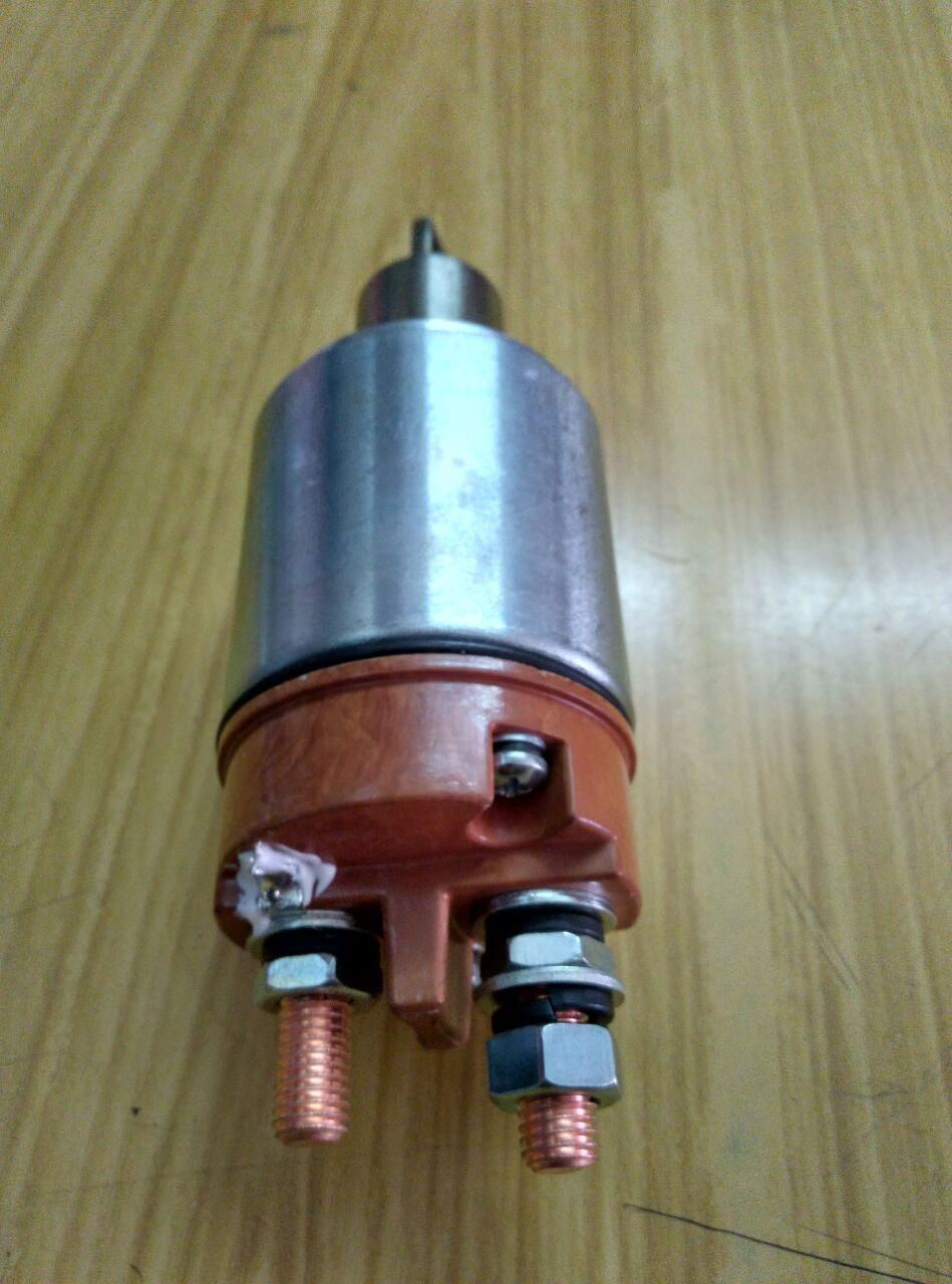 玉柴6112发动机启动马达电磁开关 起动机磁力开关dk2702qd2702-600