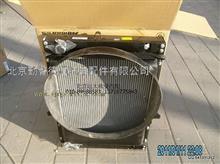 福田戴姆勒欧曼1108913106002散热器带护风罩总成/1108913106002