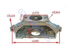 玉柴YC4108Q飞轮壳离合器壳猪头盒压板盖/D0103-1600340